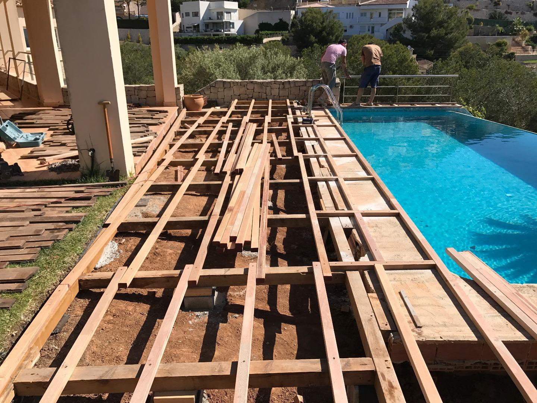 Inwood Reparación Y Restauración De Terraza Exterior De